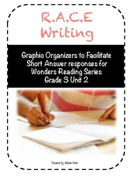 Short Answer Graphic Organizers for Wonders Unit 2
