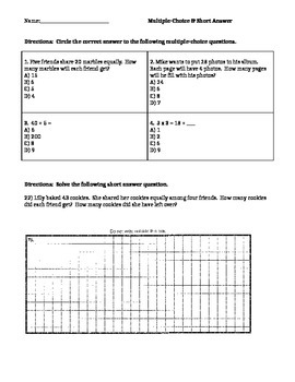 Short Answer Questions #21-22