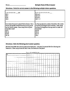 Short Answer Questions #23-24