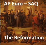 Short-Answer Response - Reformation AP Euro - One Question with Answers