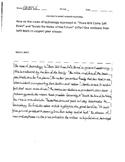 Short Answer Response Sample 2 (STAAR Test Prep)