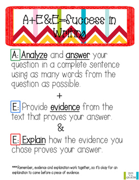 Short Answer and Paragraph Writing Mini-Lesson
