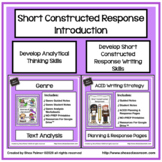 Genre Literary Analysis - ACE Writing Strategy Google Apps