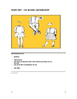 Short Drama Skit - The School Uniform Shop