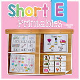 Short E Activities | Short E Worksheets