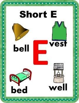 Short E: An Early Phonics Unit