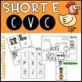 Short E - CVC Word Work