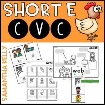 Short E - CVC Word Work