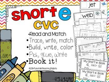 Short E CVC - 5 Interactive Activities