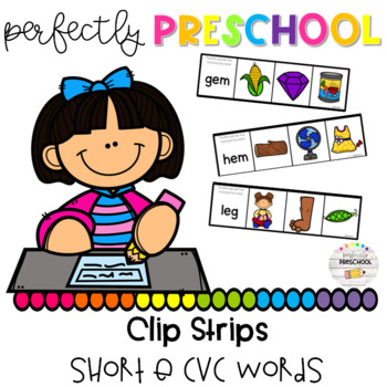 Short E CVC Clip Strips