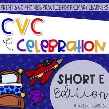 Short E CVC Print and GO!