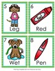 Short E CVC Words Write the Room Activity