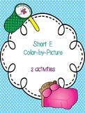 Short E Color-By-Picture