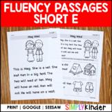 Short E Comprehension Passages