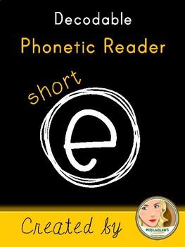 Short E Decodable Book