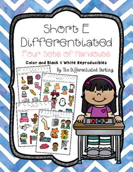 Short E Differentiated Handouts