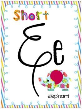 Short E Differentiated Word Work Bins