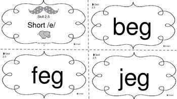 Short E Flashcards