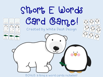 Short E Fluency Game {Winter Theme}