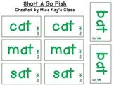 Short A Go Fish - CVC