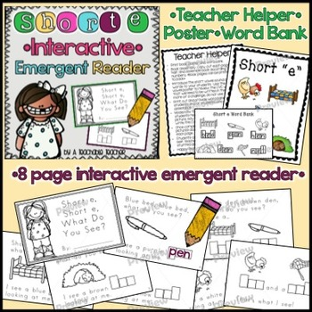 Short E Interactive Emergent Reader