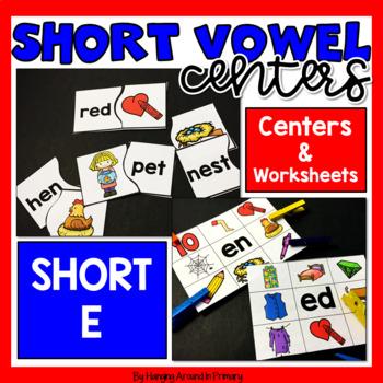 Short E Literacy Centers