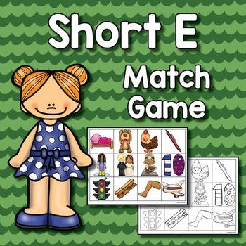 Short E Match Game
