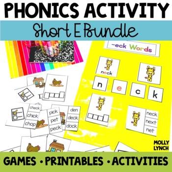 Short E Phonics Activities