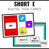 Short E Phonics Boom Cards