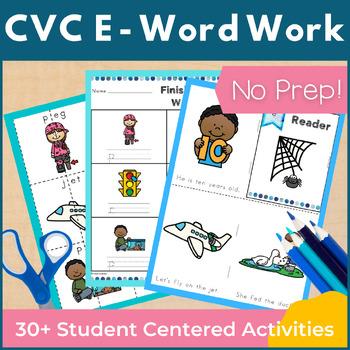 CVC Short E Word Work and Activities