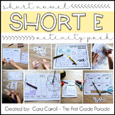 Short Vowel CVC Word Family Activities (Short Vowel E)