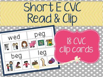 Short E Read & Clip Cards