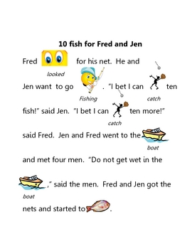 Short e rebus 10 fish for fred and jen by tangled up for Fish short story