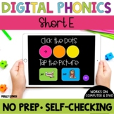 Distance Learning Short E Sound Tappers - Digital Phonics