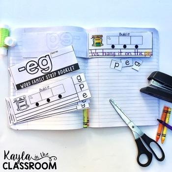 Short E Strip Booklets