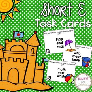 Short E Task Cards