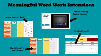 Short E Vowel Activity for Google Slides