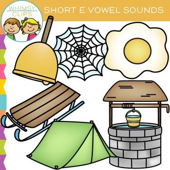 Short E Vowel Clip Art
