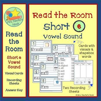 Read the Room Alphabet Short Vowel E