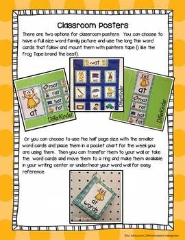 Short 'E' Word Families Word Work Galore Bundle-Differentiated and Aligned