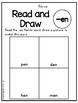 Short E Word Family Read and Draw- Pack 1