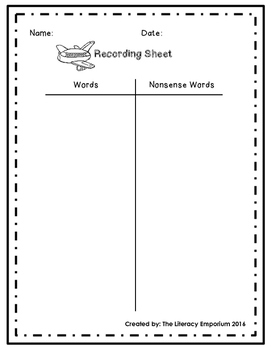 Short E Word Sliders