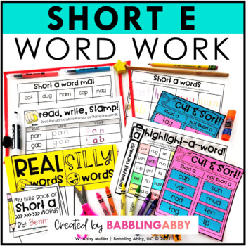 Ordinal Numbers Kindergarten Worksheets Spelling Teaching Resources  Lesson Plans  Teachers Pay Teachers Phonics Worksheets For Preschoolers Excel with 1st Grade Esl Worksheets Short E Word Work Activities Nouns And Verbs Worksheets Excel
