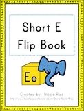 Short E Word Work Flip Book