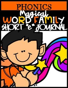 """Wonderful Word Family Short """"e"""""""