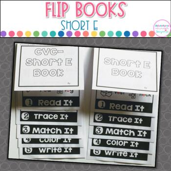 Short E Words- Flip Book