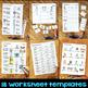 Short E Worksheets & Activities - Short E Word Work (No-Prep Phonics Worksheets)