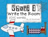 Short E Write the Room {CVC Words}