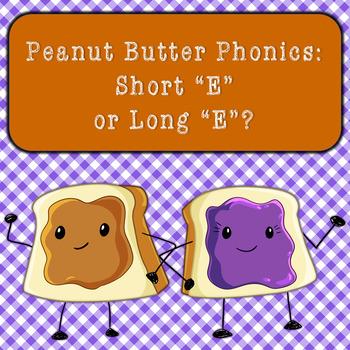 Short E vs Long E Word Sort