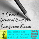 Short English Language Verbal Test for English Language Le